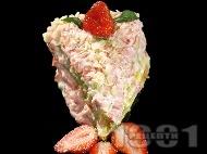 Рецепта Ягодова торта с нишесте и бадеми